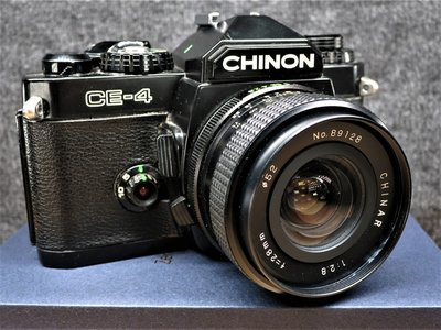 CHINON CE-4 + CHINAR 28mm 2.8 廣角鏡頭