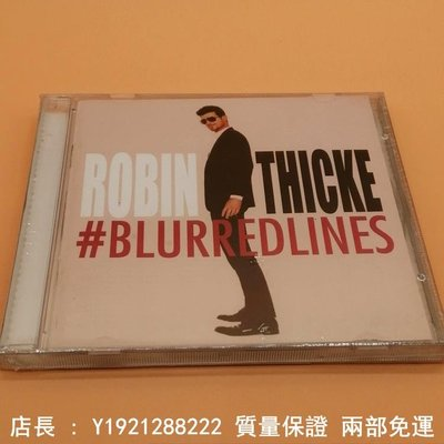 Robin Thicke --- Blurred Lines cd