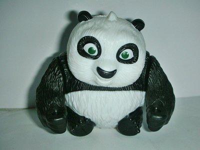 A.(企業寶寶玩偶娃娃)少見2011年麥當勞發行功夫熊貓2--小阿波公仔!--值得收藏!/黑箱23/-P