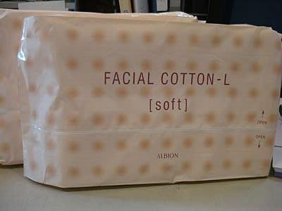 ❤Tina的家❤ALBION 艾倫比亞 健康化妝水專用化妝棉120片$165
