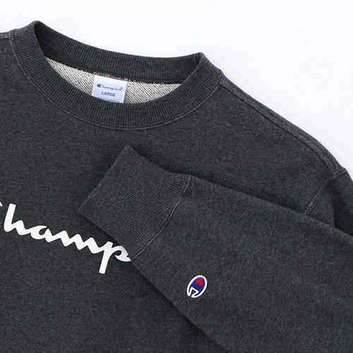 沃皮斯§Champion Basic Logo 大學Tee (炭灰色) C3-H004-089