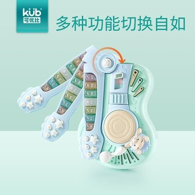 ZIHOPE 三合一多功能電子琴1-3歲寶寶益智電動小鋼琴兒童音樂玩具ZI812