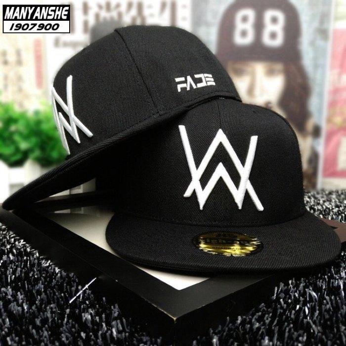 現貨在台 24H出貨😍帽子 Alan walker 艾倫沃克 嘻哈帽 棒球帽 鴨舌帽 平檐帽 網帽 潮帽 黑色男生女生