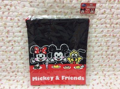 Disney 米奇  米妮 束囗袋 萬用袋收納袋《 製》