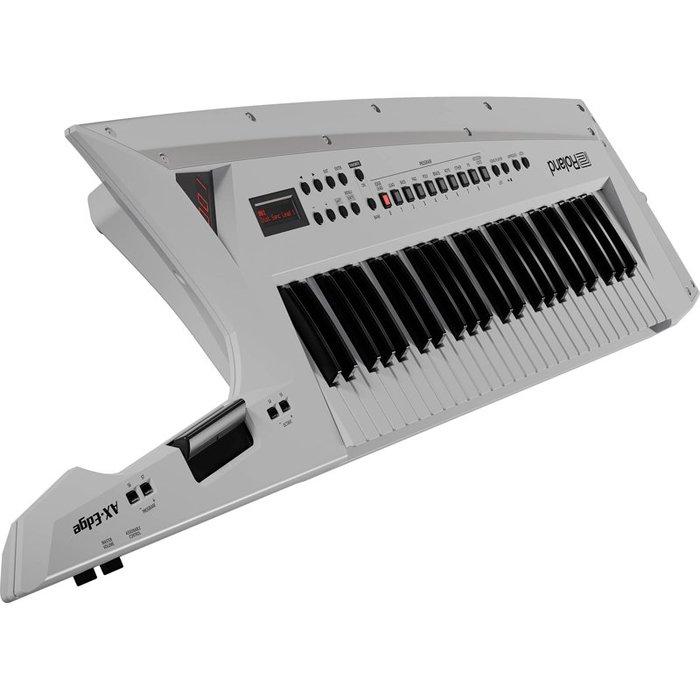 造韻樂器音響-JU-MUSIC- 全新 Roland AX-Edge keytar 肩背式 合成器 電子琴 白色 鍵盤