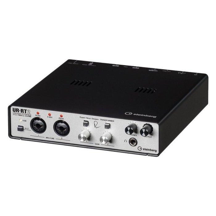 造韻樂器音響- JU-MUSIC - 全新 steinberg UR-RT2 URRT2 錄音介面