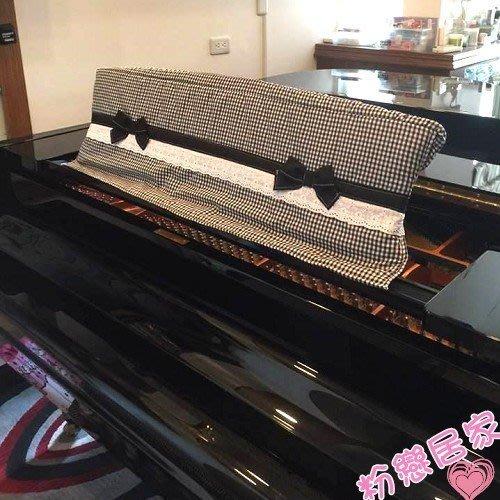 買家分享~黑白格花邊蝴蝶結鋼琴譜架