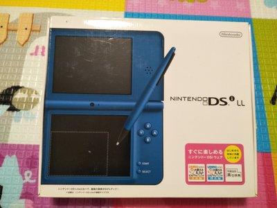 『懷舊電玩食堂』《正日本原版》【NDSi LL】實體拍攝 NDSi LL 藍色主機+盒書 送全新USB充電線
