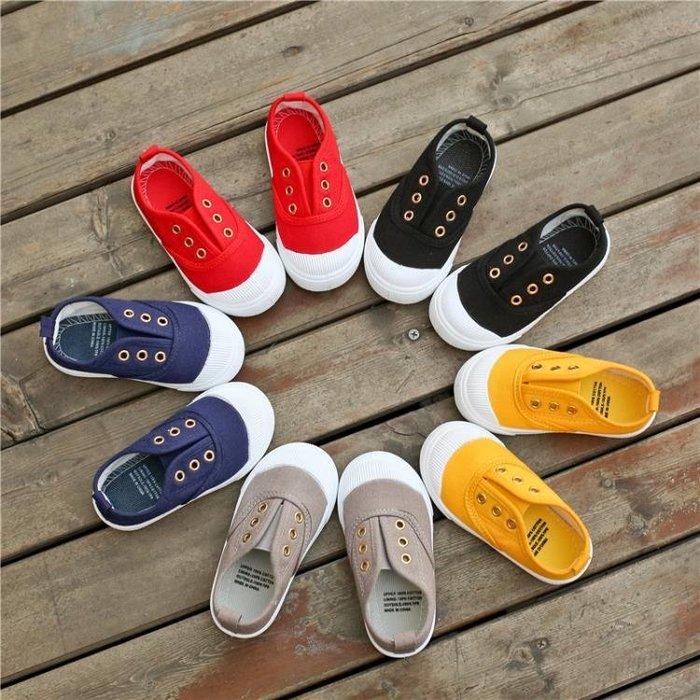 2019春秋新款童鞋韓版兒童帆布鞋寶寶單鞋男童室內鞋女學生幼兒園MTX10687