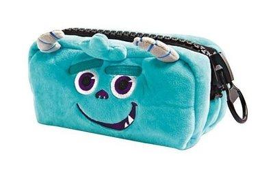 夢時代 迪士尼 怪獸大學 毛怪巨齒拉鍊萬用包 皮克斯 收納包 化妝包 手拿包