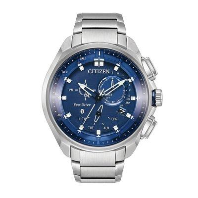 【好評再追加 展示用 如新美品】CITIZEN 星辰 光動能藍牙腕錶 BZ1029-87L Bluetooth 藍芽手錶