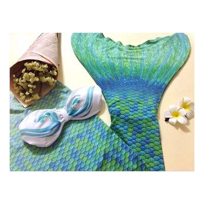 『Rosy Clouds』專業代購 美人魚魚尾尾巴 昆凌 美人魚夢 泳衣 夏天 海邊 周星馳美人魚