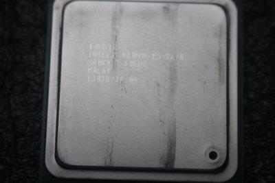 Intel 八核/16執Xeon E5-2670 2.6G 20M (LGA2011)附針管散熱膏~二手價$1200