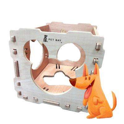 【寶貝愛寵】KT100 KATIE穿梭貓屋 單組入含長抓 玩耍貓屋 毛小孩 寵物遊戲 寵物屋 多用途貓屋