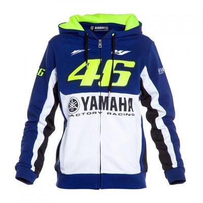 潮流前線~新款雅馬哈M1賽車服 Yamaha騎行外套 VR46棉質衛衣 羅西騎行服 戶外運動服