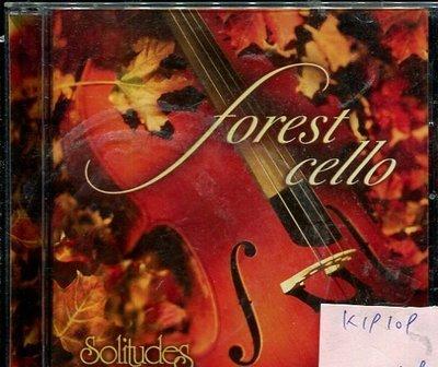 *真音樂* FOREST CELLO / SOLITUDES 日版 二手 K19109