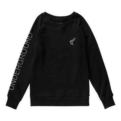 「GHK CLOTHING」CAPTAIN HOOK 15' UNDERGROUND CREWNECK 黑色