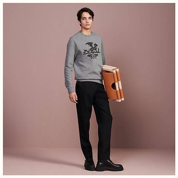 F/w  Hermes 秋冬 最新品  衛衣 藍 黑 灰 預購優惠價 我愛麋鹿 歐美精品代購 保證真品