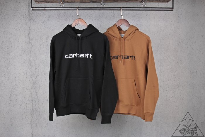 【HYDRA】Carhartt WIP Embroidered Logo Hoodie 刺繡 帽T 歐線【CATW14】