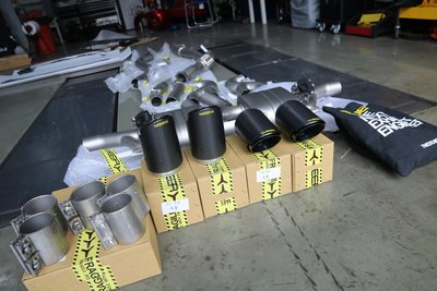 黃帝的店~TNEER 排氣管 for Porsche Cayenne E3 3.0 Coupe, Macan S GTS