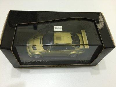 MINICHAMPS BMW M3 GTR Street