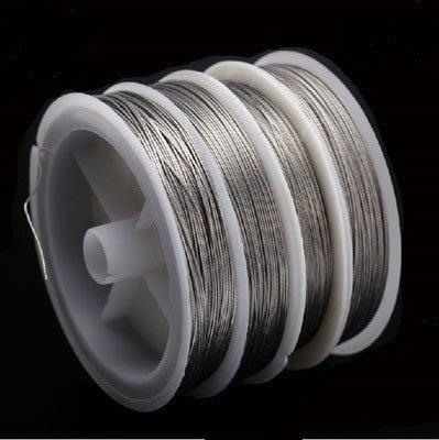 304包膠不銹鋼絲線.防咬線.前導線.超強拉力 0.3~0.8mm(此定價為0.5~0.8mm規格)