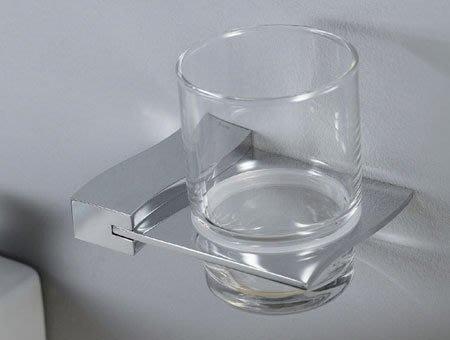 《101衛浴精品》雅鼎 Yatin 玻璃 漱口杯架 7.16.10 原廠5年保固【免運費】