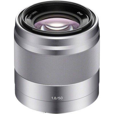 【高雄四海】Sony E 50mm F1.8 OSS 全新公司貨兩年保固.大光圈人像鏡.APS-C專用.銀黑雙色