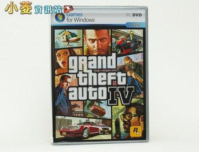 小菱資訊站《PC俠盜獵車手4/ GTA IV》英文版~全新品,特惠供應、全館滿999免郵