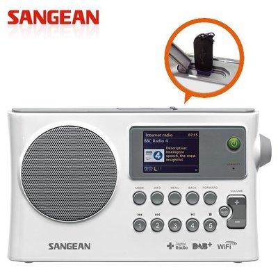 (TOP 3C) 含稅SANGEAN山進 WiFi網路收音機/ 數位廣播/ 調頻/ USB WFR-28C (實體店面)