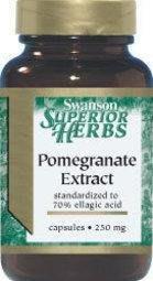 【活力小站】Swanson Pomegranate Extract 紅石榴粹取物 250mg 60顆