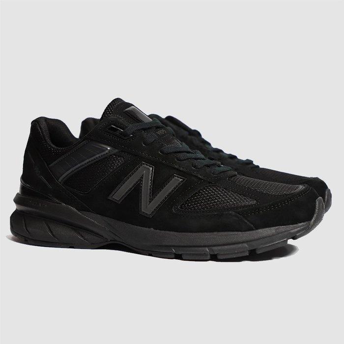 【QUEST】NEW BALANCE 990V5 D 全黑 黑色  反光 麂皮 慢跑鞋  M990BB5