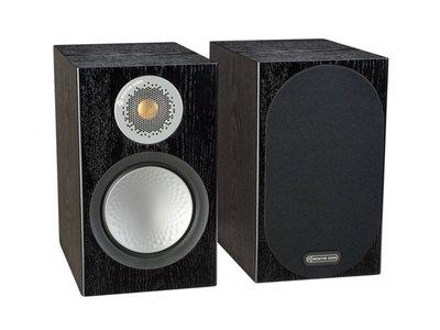 英國Monitor Audio 桃園新竹名展音響推薦 銀Silver 100 書架型喇叭 木紋版