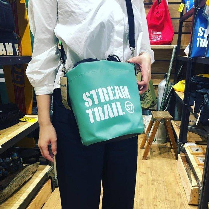 日本StreamTrail戶外防水包~ANEMONE隨身包逛街上班出國旅遊最方便的隨身小包~翡翠綠-限量到貨