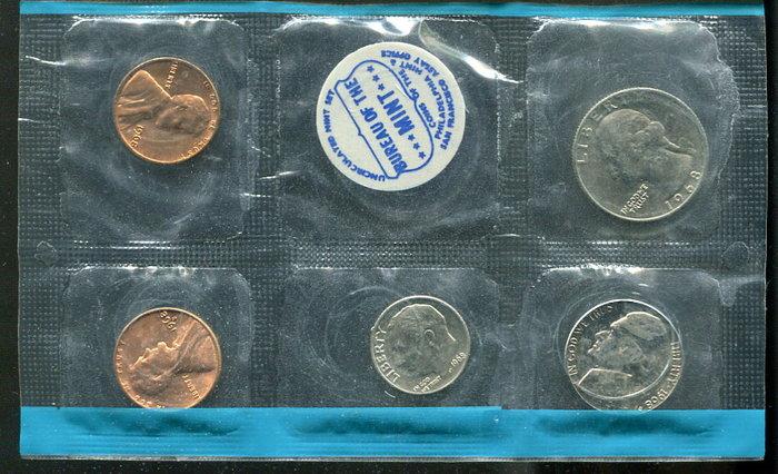 美國1968年套幣,#191143