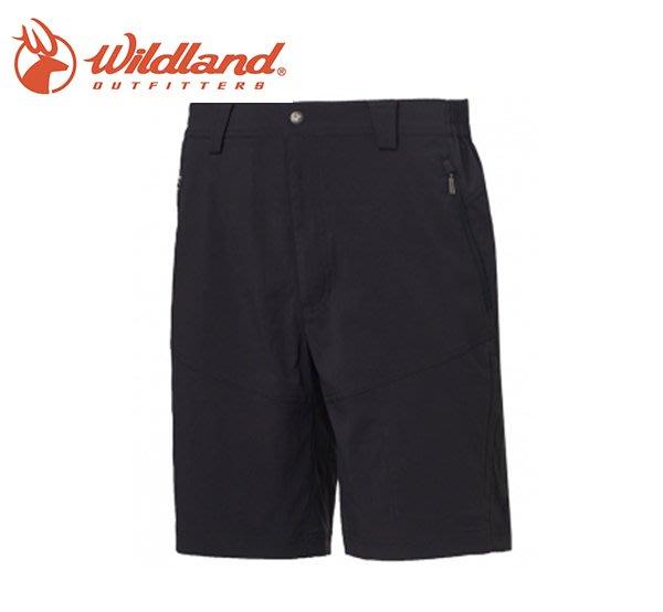 丹大戶外【Wildland】荒野 男彈性抗UV機能短褲 0A61358-93 深灰色