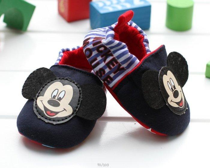 寶貝倉庫~米奇不掉鞋~學步鞋~嬰兒鞋~防滑~室內不掉鞋~家居布鞋~寶寶鞋~彌月送禮