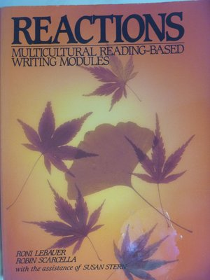 Reactions:Multicultural Reading-Based Writing Modules〖語言〗AEN