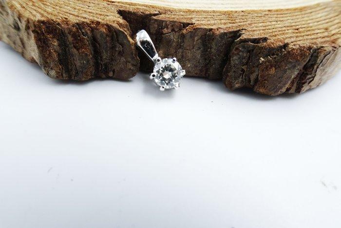 %玉承珠寶%天然30分鑽石18k金六爪墜子B096(貴金屬買賣.珠寶設計訂做.黃金買賣)