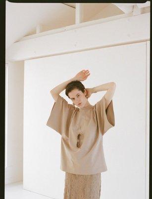 【預購】日本連線CLANE夏20新入荷T-LINE BIG TOPS 官網完售熱賣寬鬆大T恤圓領棉衣韓國ungrid*