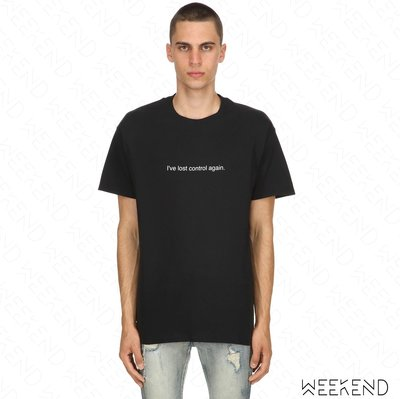 【WEEKEND】 FUCK ART MAKE TEES FAMT Lost Control 短袖 上衣 T恤 黑色