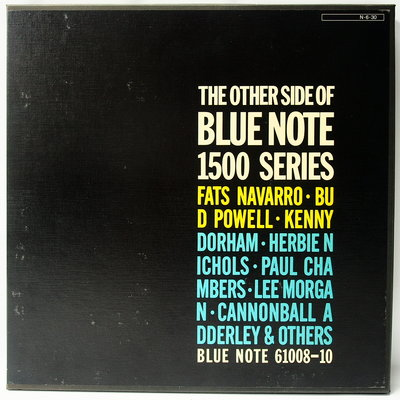 爵士黑膠 【The Other Side of Blue Note 1500 Series】日本全球唯一版本 3LP
