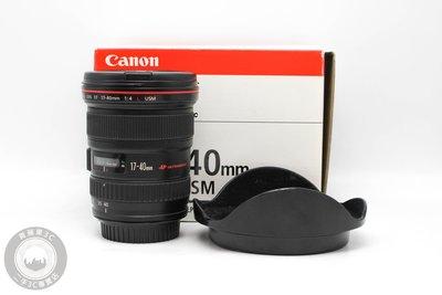 【高雄青蘋果3C】Canon EF 17-40mm f4 L USM UB鏡 二手鏡頭 中古鏡頭 #59984