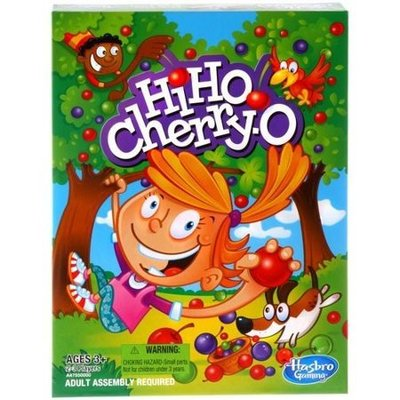 Classic Hi Ho Cherry-O Kids Board Game for Preschoolers Ages 3 and up