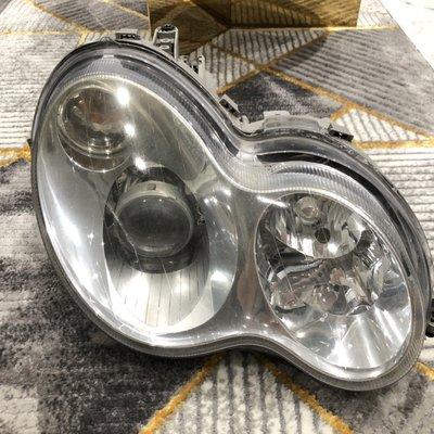 賓士 BENZ w203 正廠大燈 零件