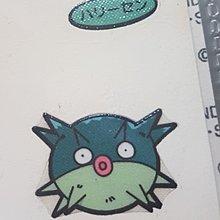 Pokemon 日本第一包特典 收藏貼紙 - 千針魚