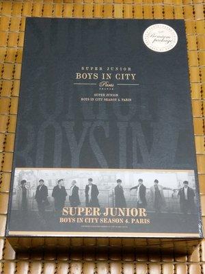 不二書店 SUPER JUNIOR Boys in City Season 4_Paris 豪華珍藏版 全新未拆封
