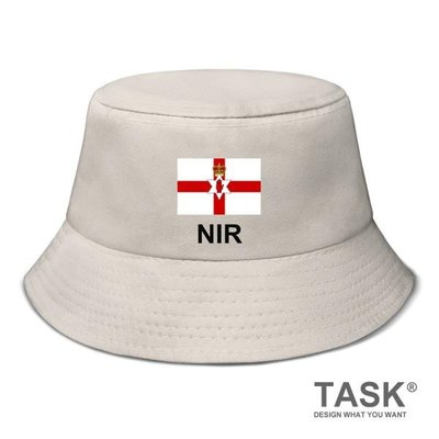 北愛爾蘭Northern Ireland國家漁夫帽男女生帽子防曬帽遮陽帽 city