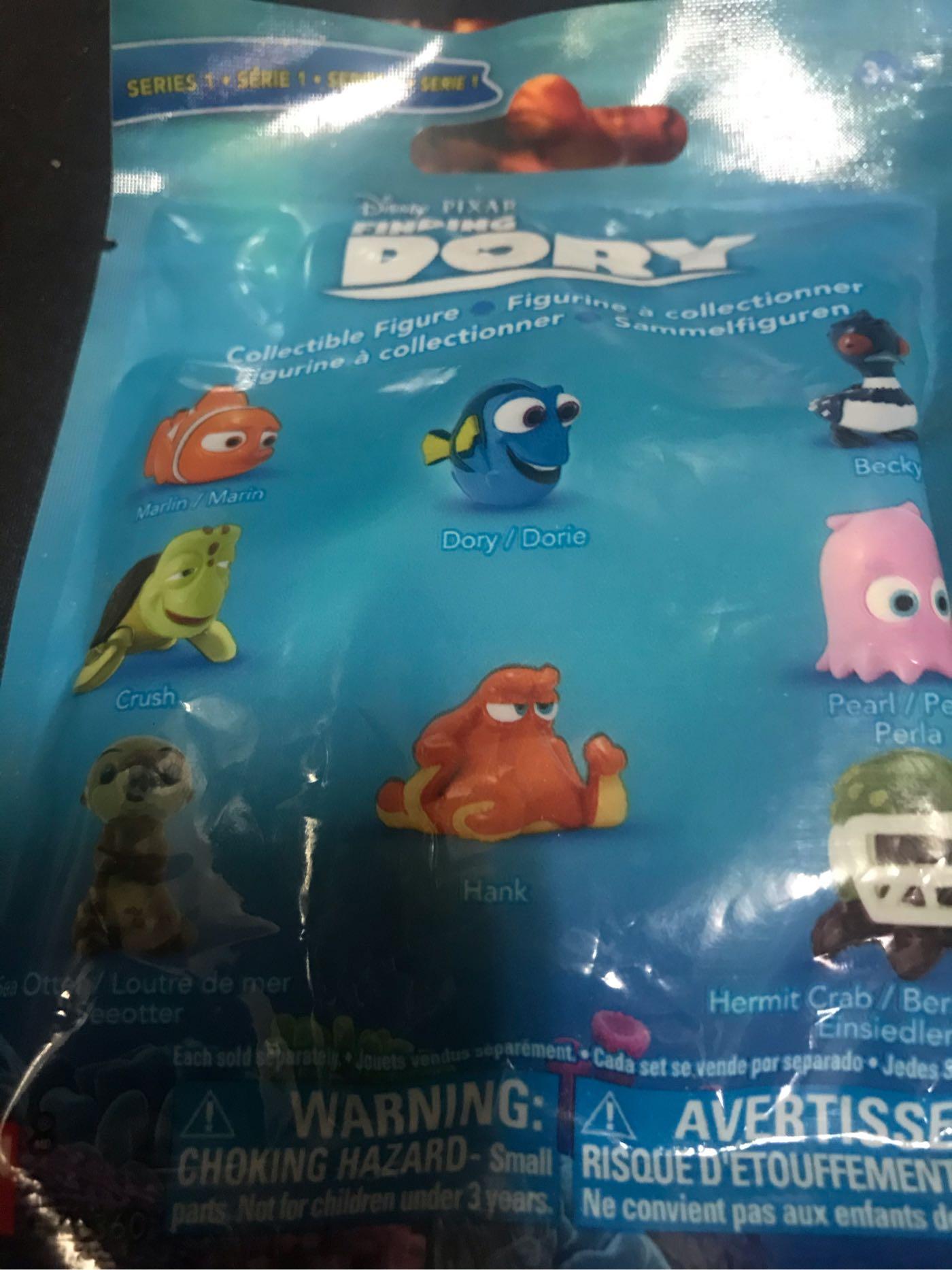 Disney PIXAR 海底總動員2-尋找多莉-迷你公仔( 海龜