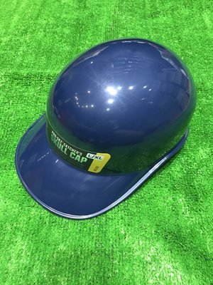 棒球世界全新PRO-SRZ SKULL CAP EVO捕手用頭盔深藍色 教練帽 跑壘指導帽 特價